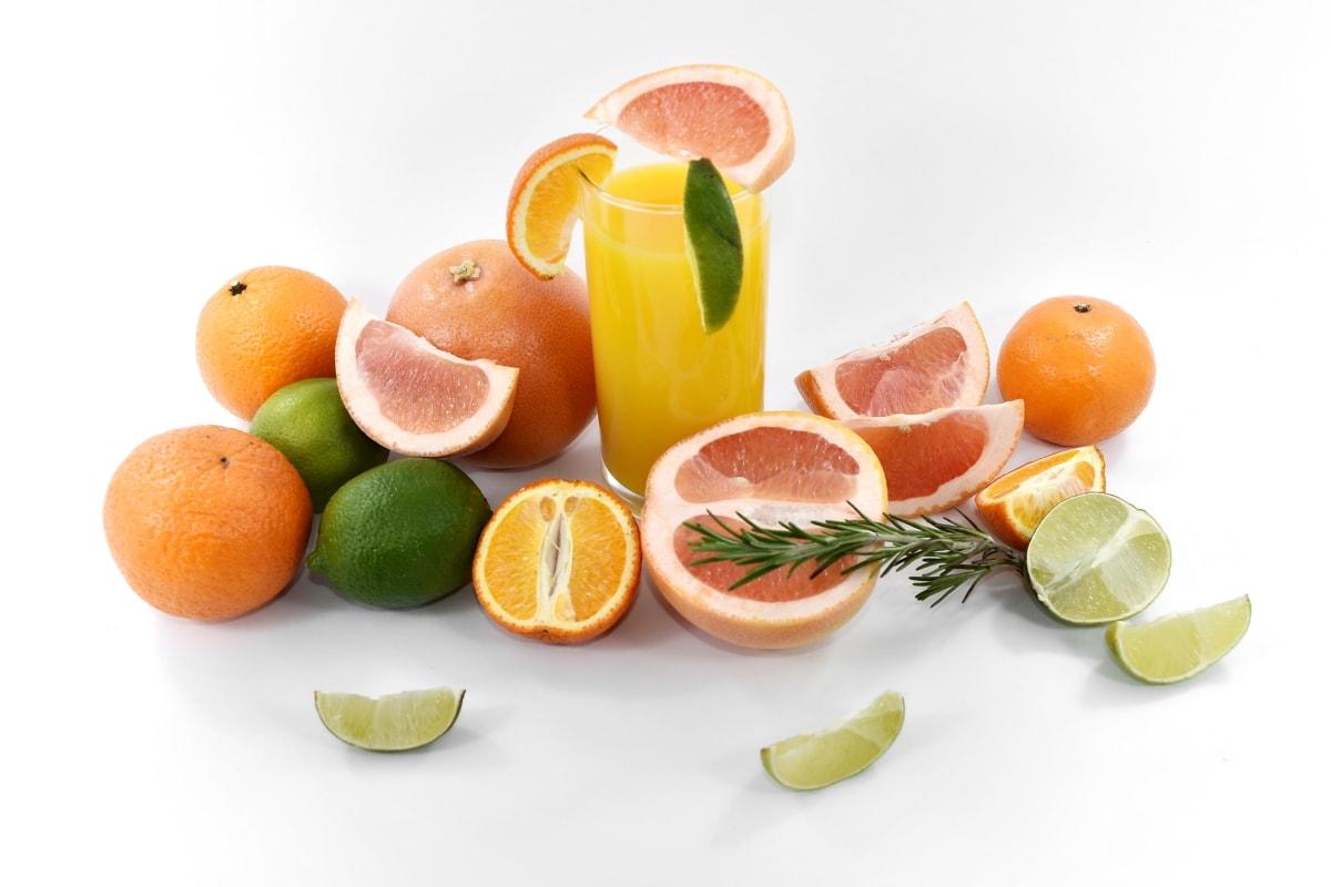 antioxidant, beverage, citrus, fruit cocktail, fruit juice, grapefruit, lemon, mandarin, oranges, ripe fruit