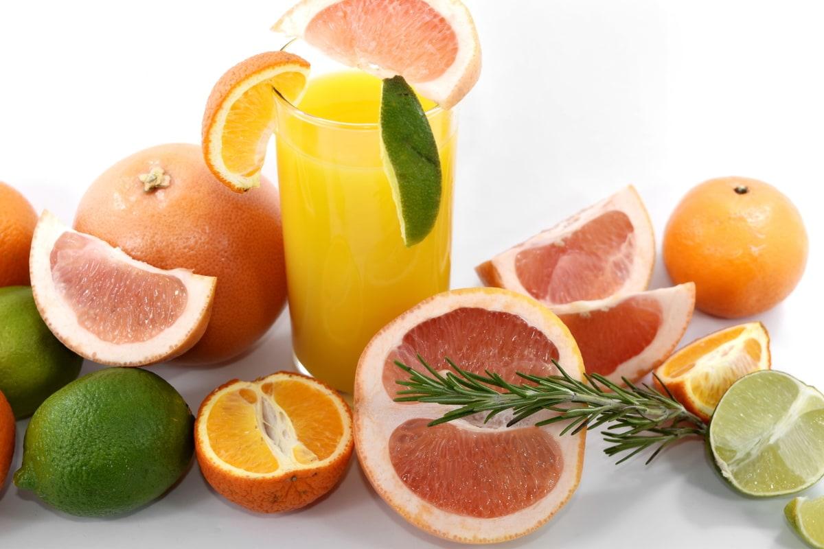 citrus, exotic, fruit cocktail, fruit juice, grapefruit, key lime, lemon, lemonade, oranges, tropical
