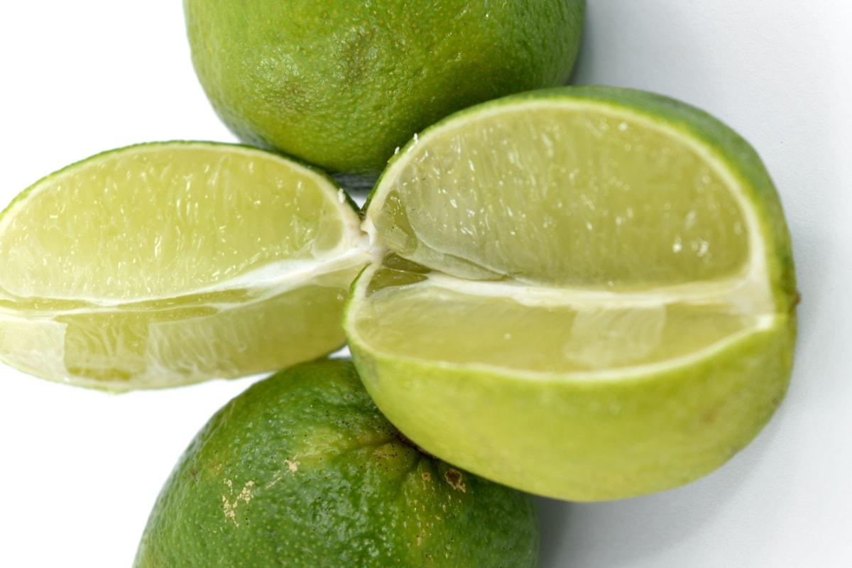 fresh, key lime, wet, health, citrus, lemon, fruit, produce, food, tropical
