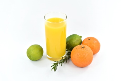 antioxidant, beverage, cocktails, fruit juice, key lime, lemon, oranges, rosemary, fresh, orange