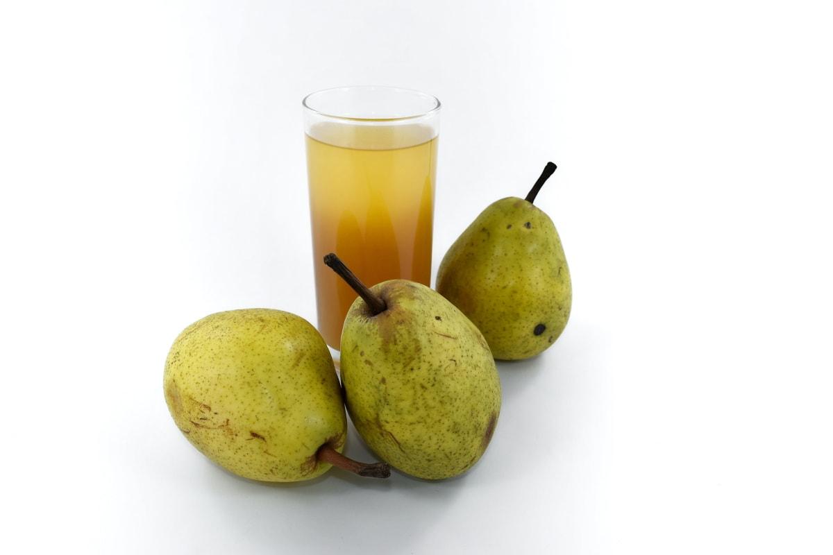 antioxidant, drank, drankje, vers, vruchtensap, organische, peren, siroop, voedsel, voeding