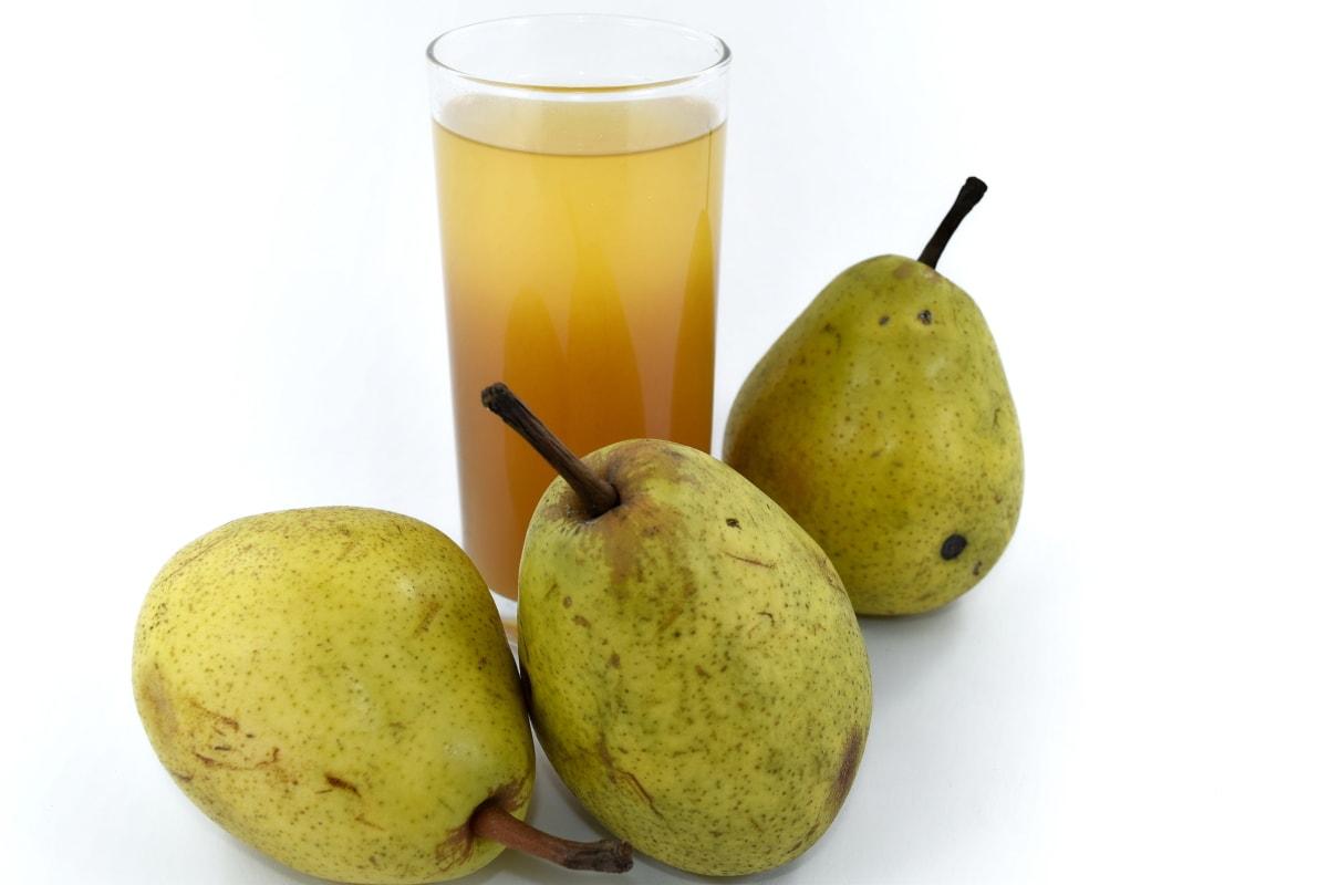 vrucht, vruchtensap, grond, peren, siroop, geheel, dieet, gezonde, peer, zoet