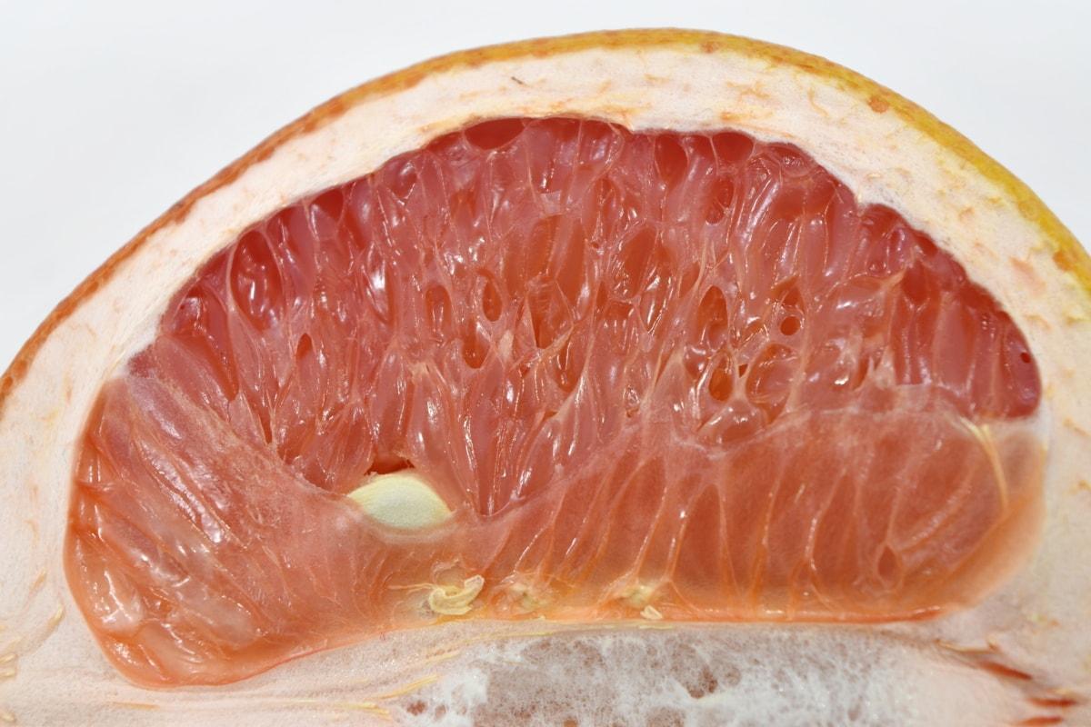 bitter, detail, exotic, grapefruit, slices, tasty, fruit, food, citrus, slice