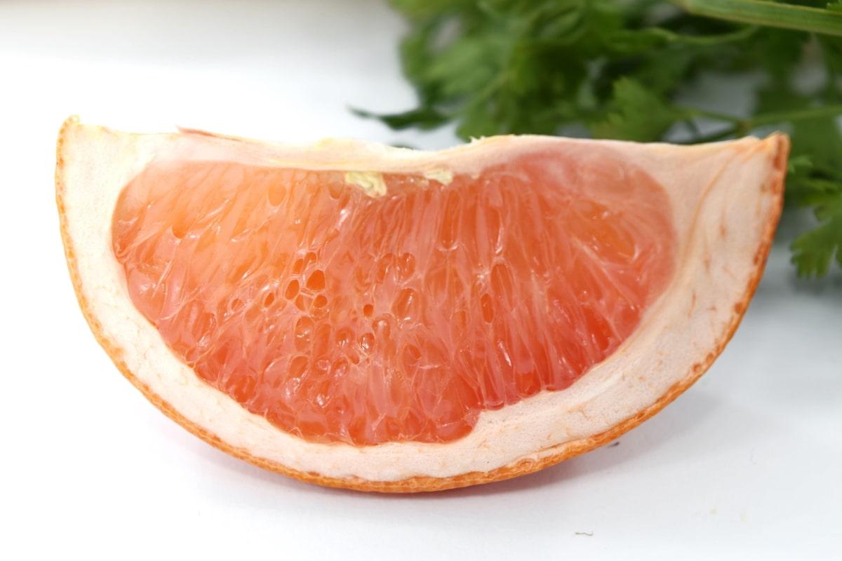 bitter, citrus, grapefruit, side view, slice, fruit, food, vitamin, healthy, fresh