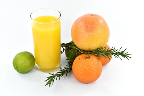 antibactérien, Beverage, exotique, cocktail de fruits, jus de fruits, pamplemousse, lime clés, tropical, végétalien, végétarien