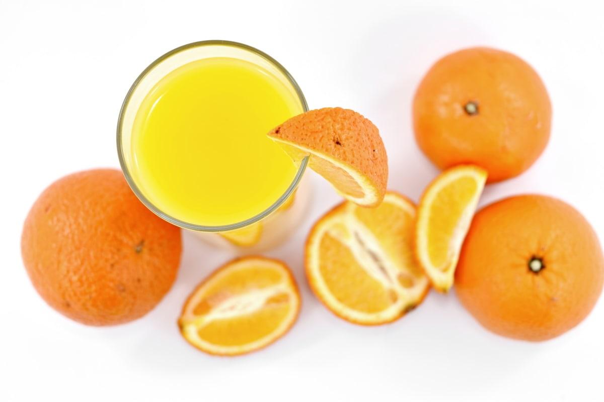 antibacterial, antioxidant, carbohydrate, citrus, drink, fresh, fruit juice, liquid, orange peel, oranges