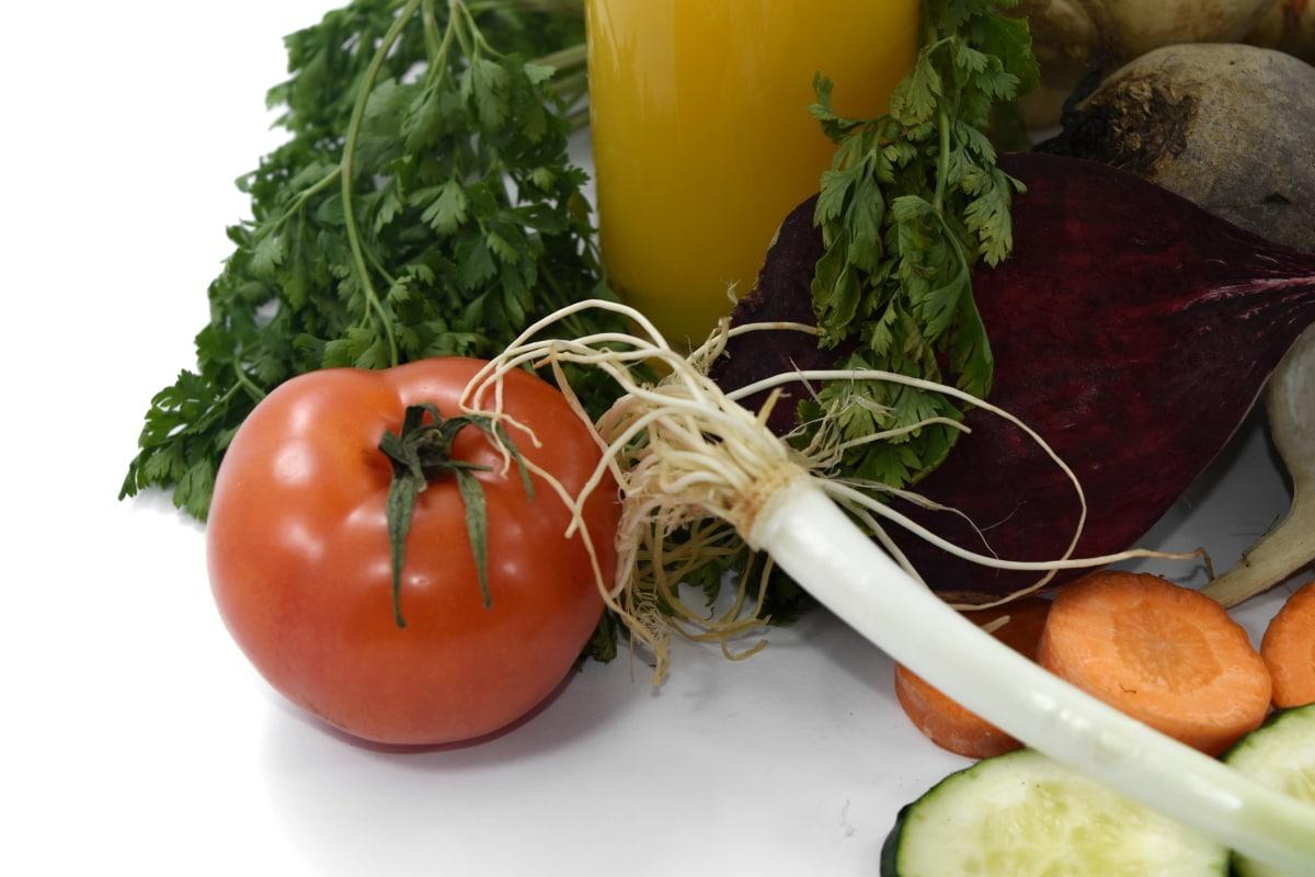 beetroot, carrot, celery, fruit juice, leek, onion, tomato, vegetable, produce, tomatoes