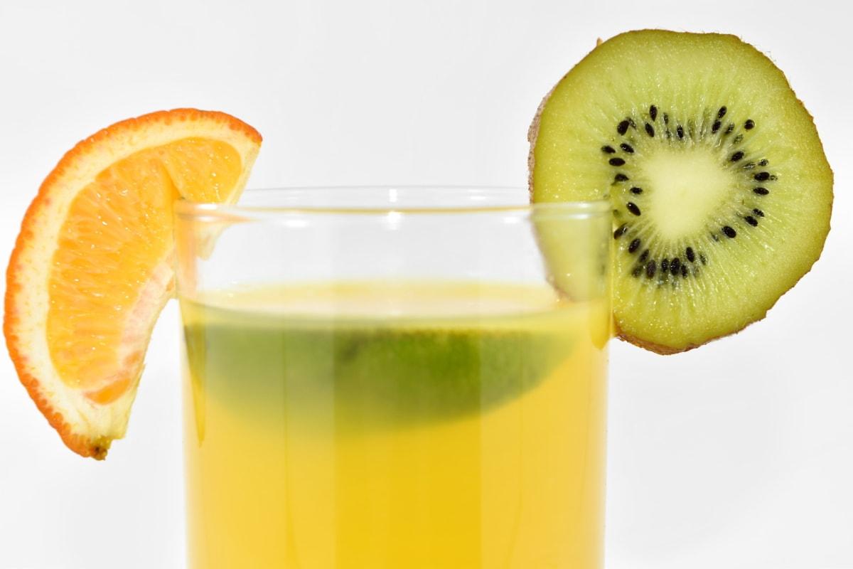 beverage, key lime, kiwi, lemonade, mandarin, fruit, diet, glass, vitamin, healthy