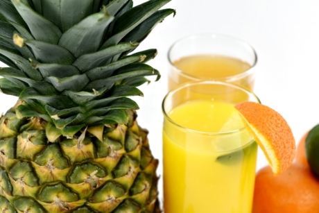 aromatic, cold water, fresh water, fruit custard, fruit juice, lemonade, pineapple, vitamin, produce, fruit