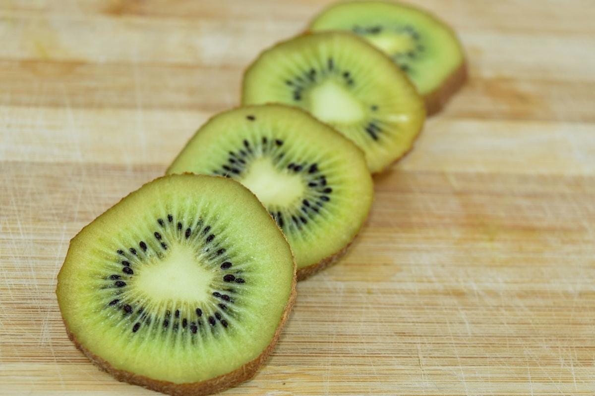 aroma, fresco, Kiwi, fruta madura, dieta, alimentos, saludable, tropical, fruta, vitamina