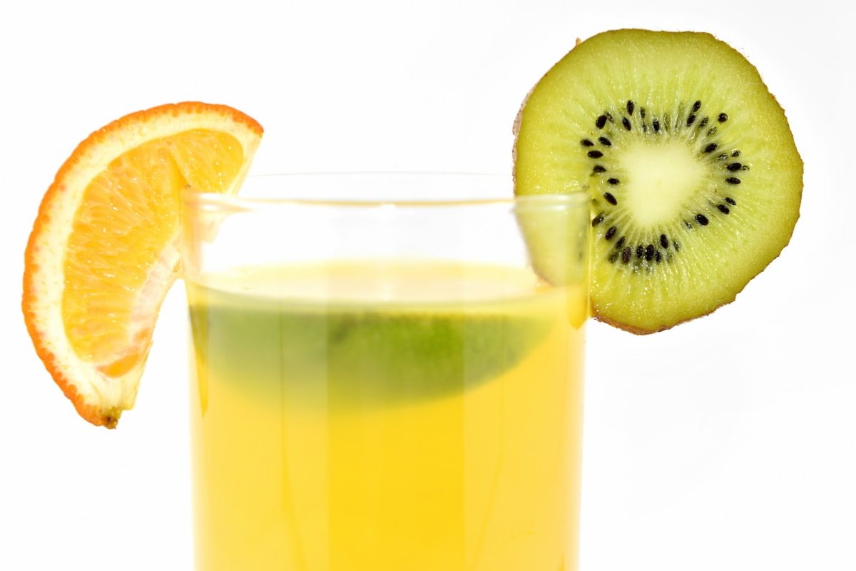 hořký, chlad, sladká voda, ovocný koktejl, limetový, Kiwi, citron, limonáda, mandarinka, chutné