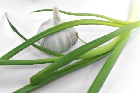 garlic, green leaves, leek, wild onion, onion, vegetable, leaf, nature, chives, food