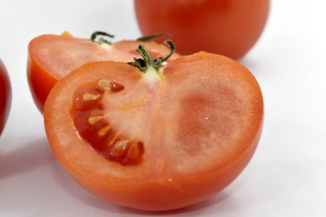 half, seed, slices, tissue, tomato, vitamin, food, ingredients, delicious, farming