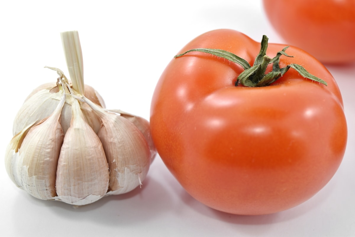 agriculture, garlic, herb, organic, products, spice, tomato, vegetable, vegetarian, ingredients