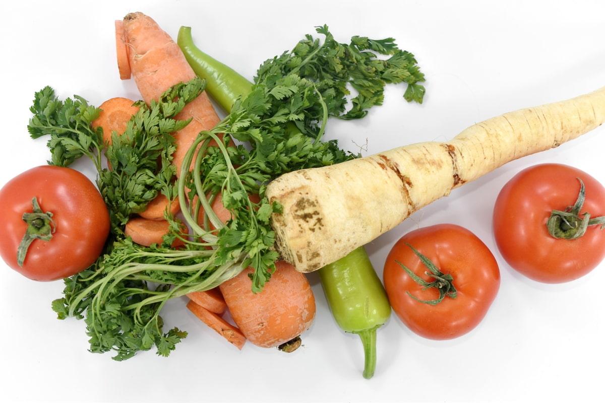 抗酸化, 炭水化物, ニンジン, パセリ, トマト, ダイエット, 食品, ランチ, 食事, 野菜
