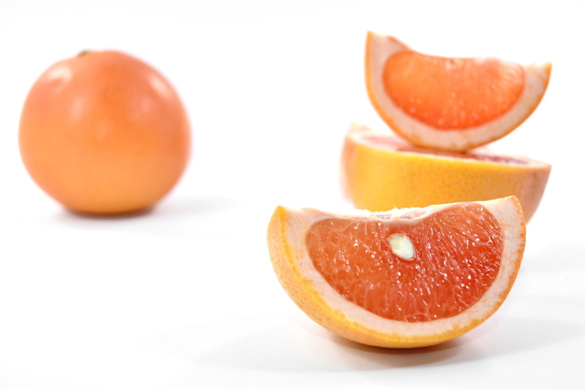 antioxidant, carbohydrate, fruit, half, seed, slices, tropical, grapefruit, food, vitamin