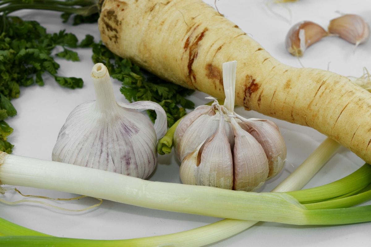 Petersilie, Root, Ingwer, Knoblauch, Essen, Kraut, Gemüse, Gesundheit, Zutaten, Zwiebel