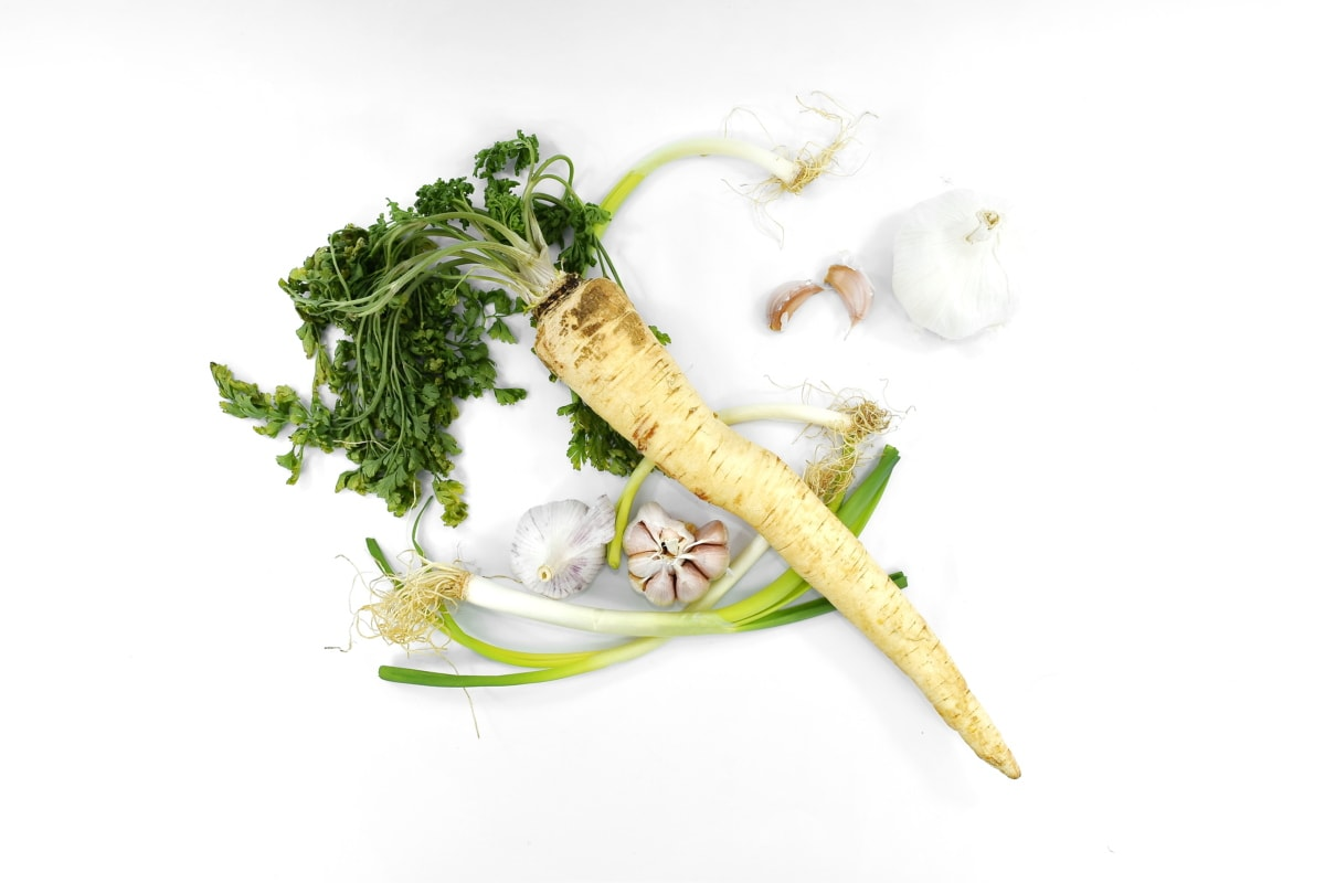 måltid, vegetabilsk, mat, roten, sunn, blad, natur, helse, flora, krydder