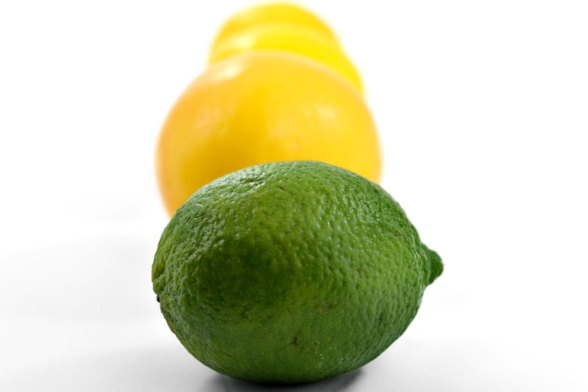 citrus, dark green, fresh, fruit, key lime, lemon, yellowish, food, vitamin, healthy