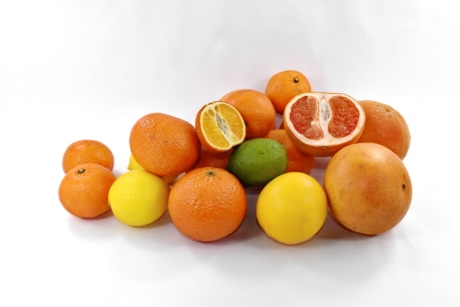 Grapefruit, die Hälfte, Orange peel, Orangen, Zitrus, Mandarine, Mandarin, Orange, süß, Obst