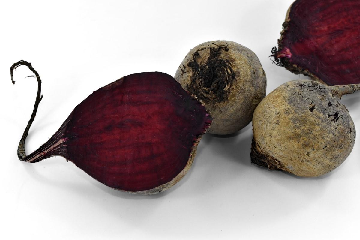 agriculture, beetroot, organic, purplish, reddish, root, vegetable, whole, food, herb