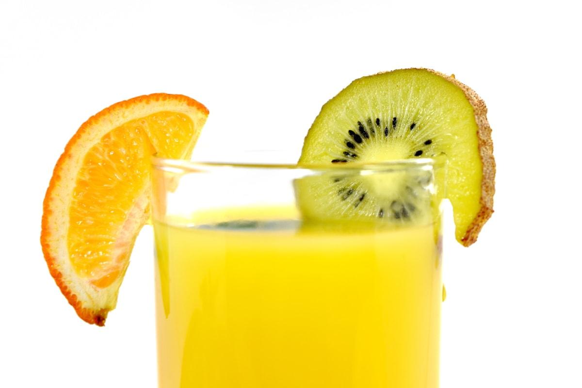 напої, гіркий, близьким, прісна вода, повний, ківі, лимон, мандарин, фрукти, тропічна