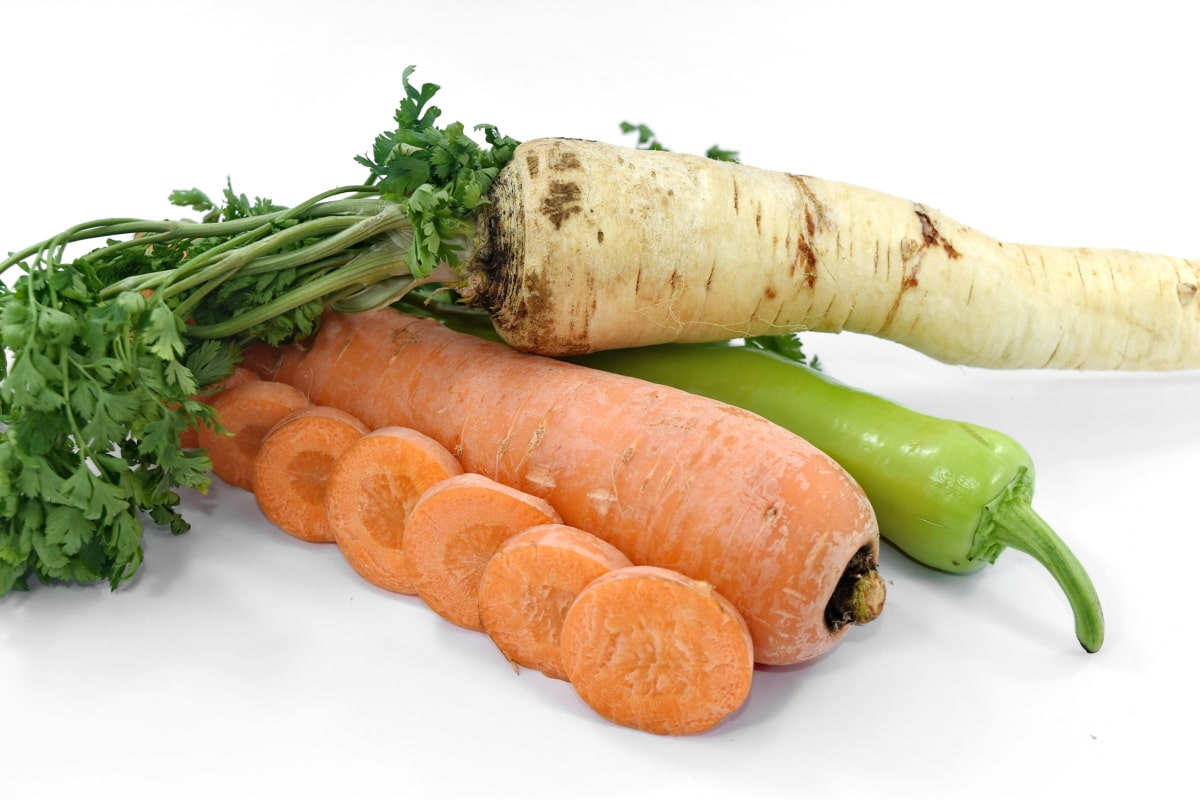 antioxidant, carrot, chili, parsley, vegetables, vitamin C, vegetable, food, root, nutrition