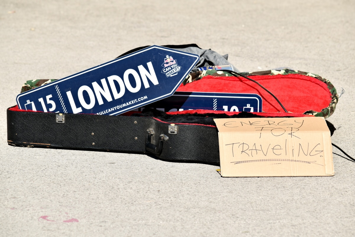 skladište, Engleska, London, paket, znak, putovanja, papir, retro, tekst, ljeto