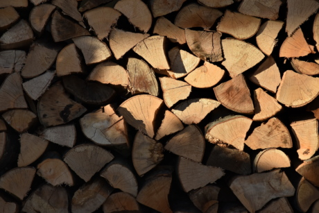 firewood, texture, wood, stacks, dry, rough, pattern, material, surface, brown