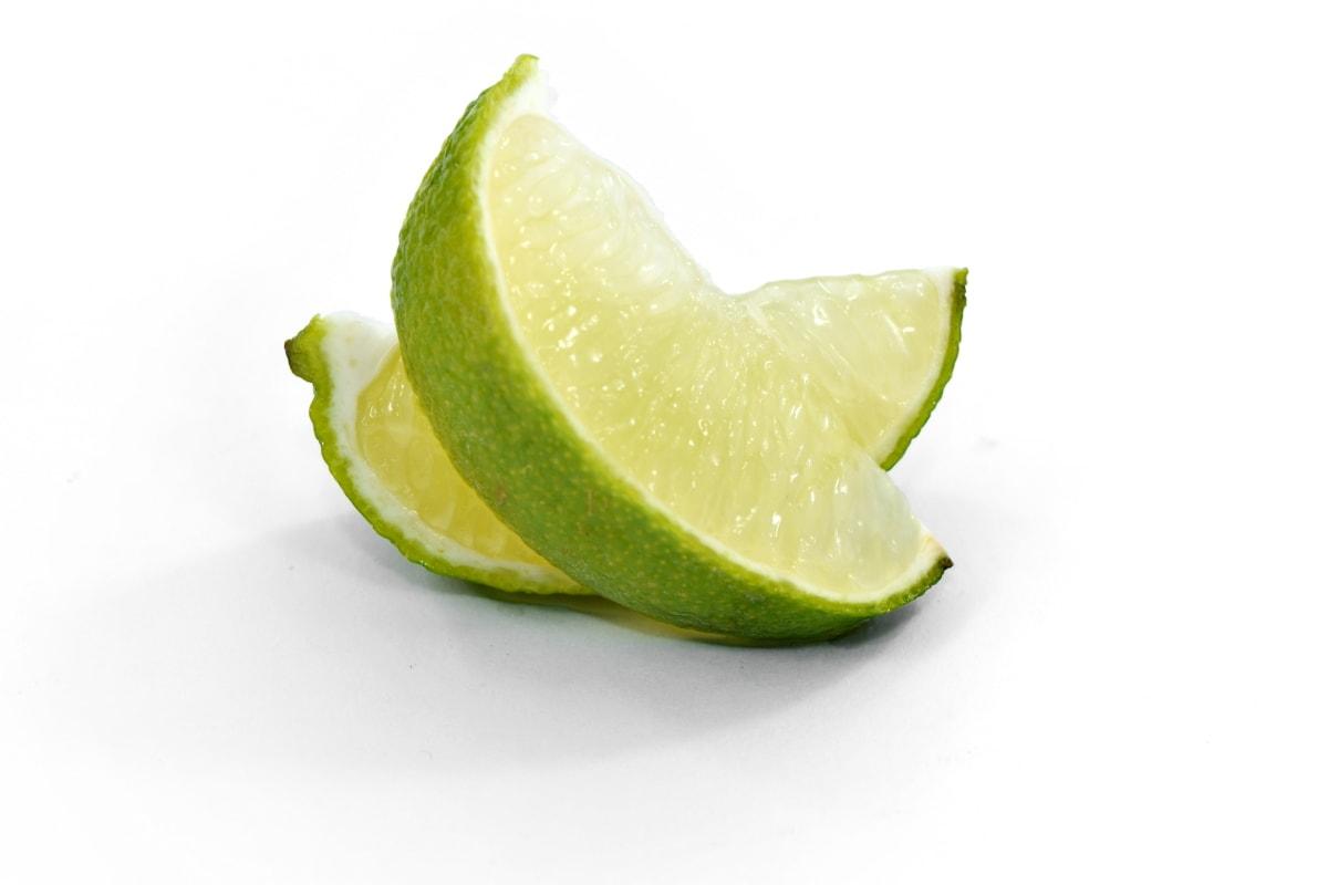 bitter, exotic, lime, slices, vitamin C, wet, food, citrus, fresh, lemon
