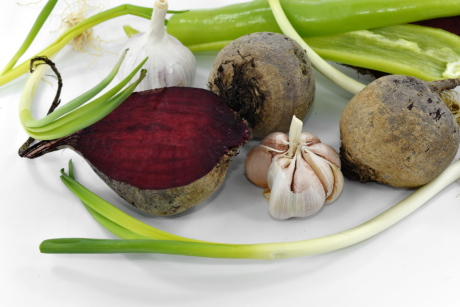 beetroot, garlic, leek, wild onion, food, pepper, vegetable, ingredients, health, root