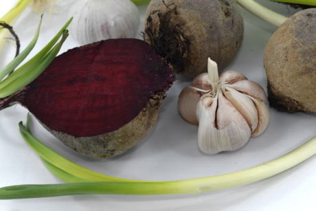 beetroot, garlic, onion, vegetable, bulb, food, root, health, ingredients, cooking