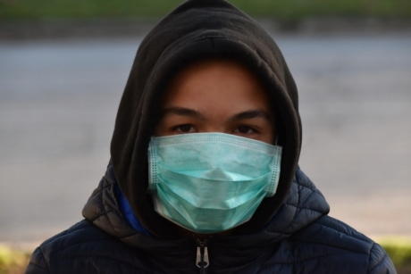 coronavirus, COVID-19, health care, patient, face mask, disease, health, protection, portrait, pollution