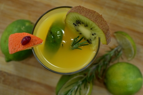 amer, eau douce, cocktail de fruits, complet, Kiwi, limonade, lime, Mandarin, fruits, alimentaire