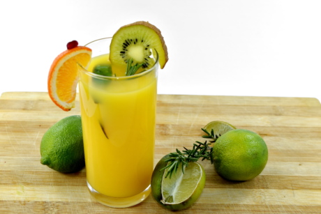 boisson, eau douce, jus de fruits, limonade, lime, Mandarin, fruits mûrs, alimentaire, jus de, agrumes