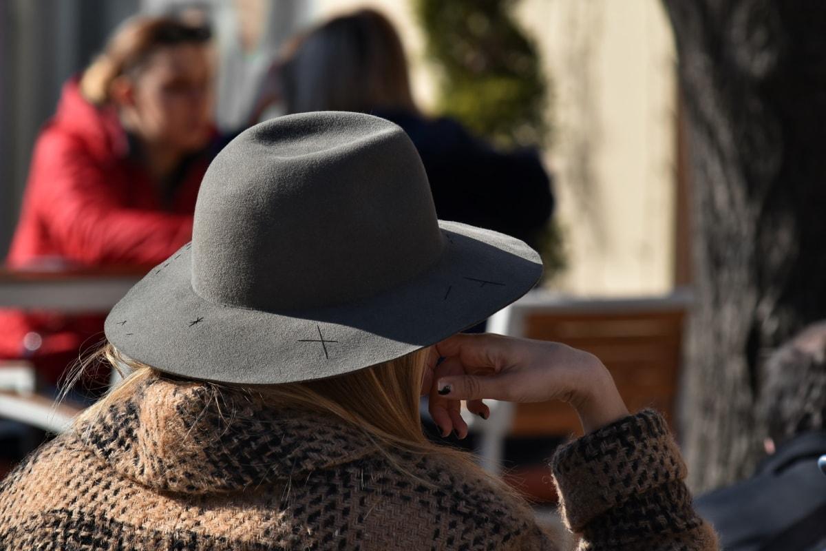 ブロンドの髪, ファッション, 帽子, 女性, 人々, 衣料品, 男, ベール, 女の子, アウトドア