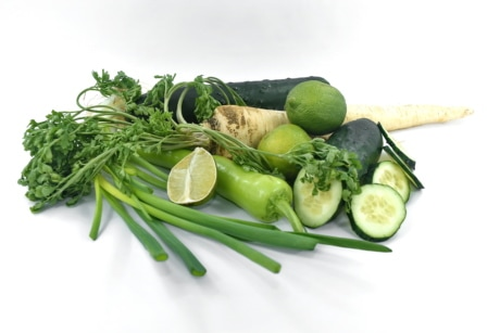 citrus, cucumber, dark green, food, minerals, parsley, ripe fruit, vegetables, vitamin C, vitamins