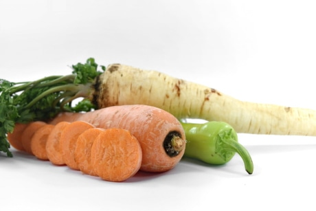 antioxidant, carrot, chili, minerals, parsley, vitamin C, vitamins, vegetable, food, root