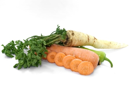 antioxidant, aroma, carrot, groceries, minerals, organic, parsley, spice, vegetable, vitamin C