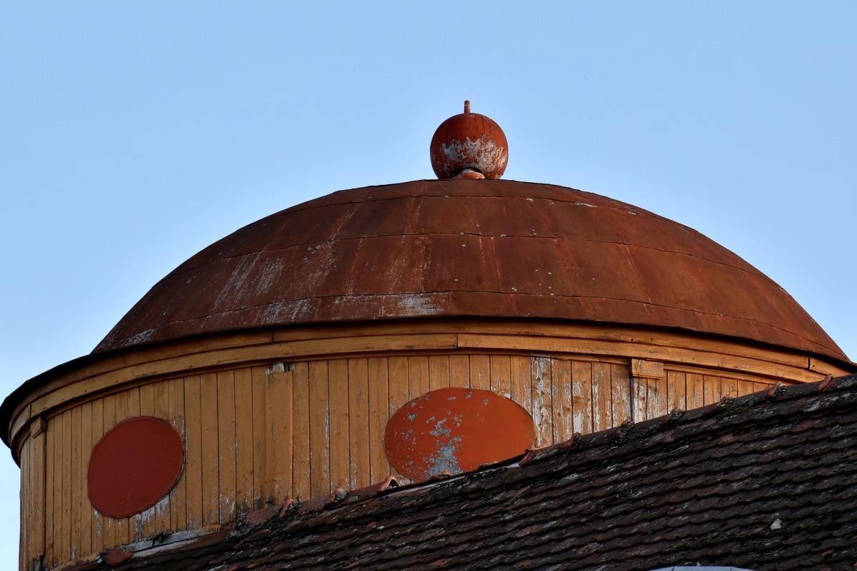 dôme, fait main, maison, toit, traditionnel, Création de, vieux, religion, architecture, couvrant