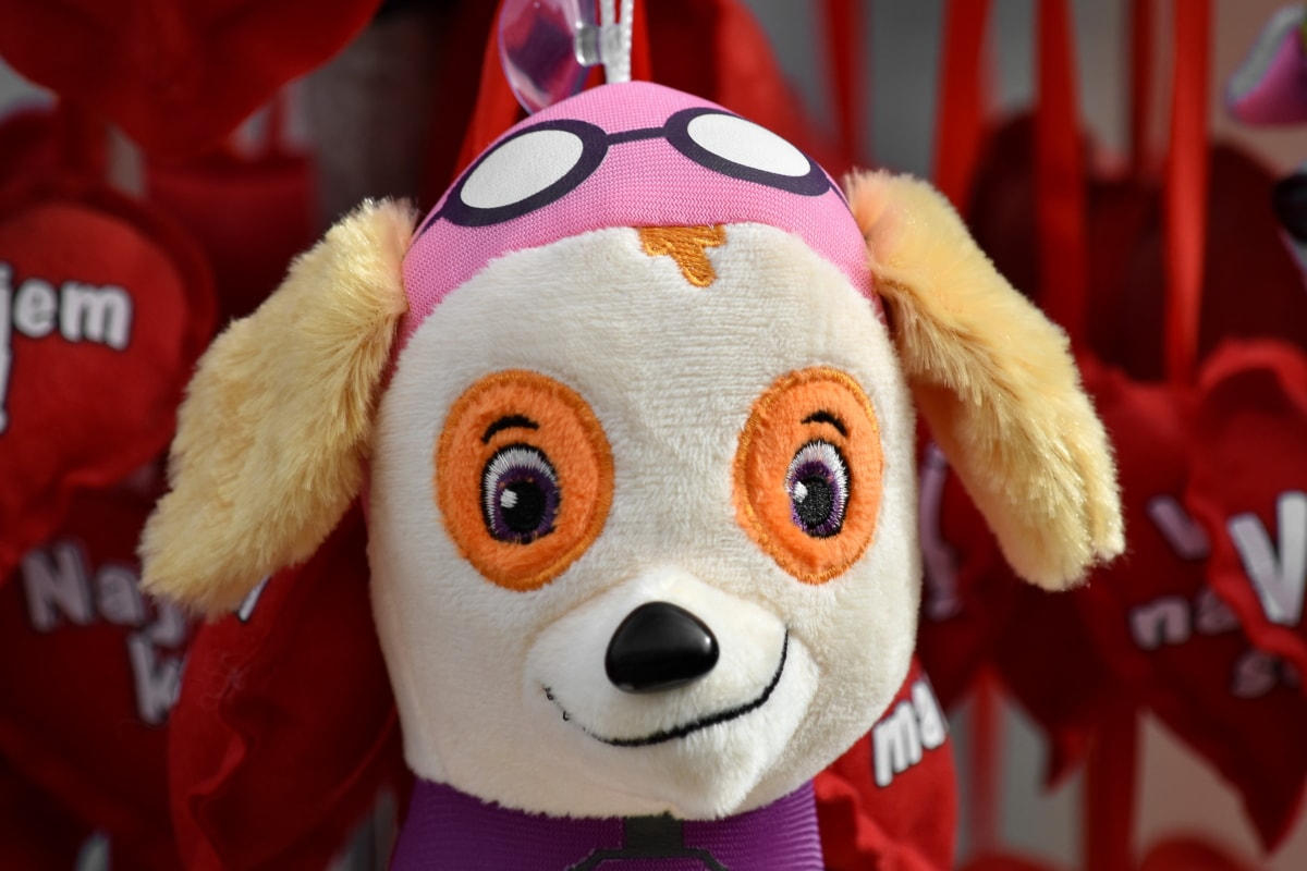 dog, toy, mascot, fun, funny, cute, traditional, doll, handmade, gift