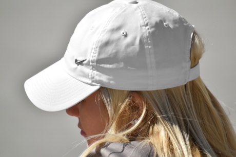 beautiful, blonde hair, gorgeous, hat, side view, girl, fashion, woman, hair, pretty