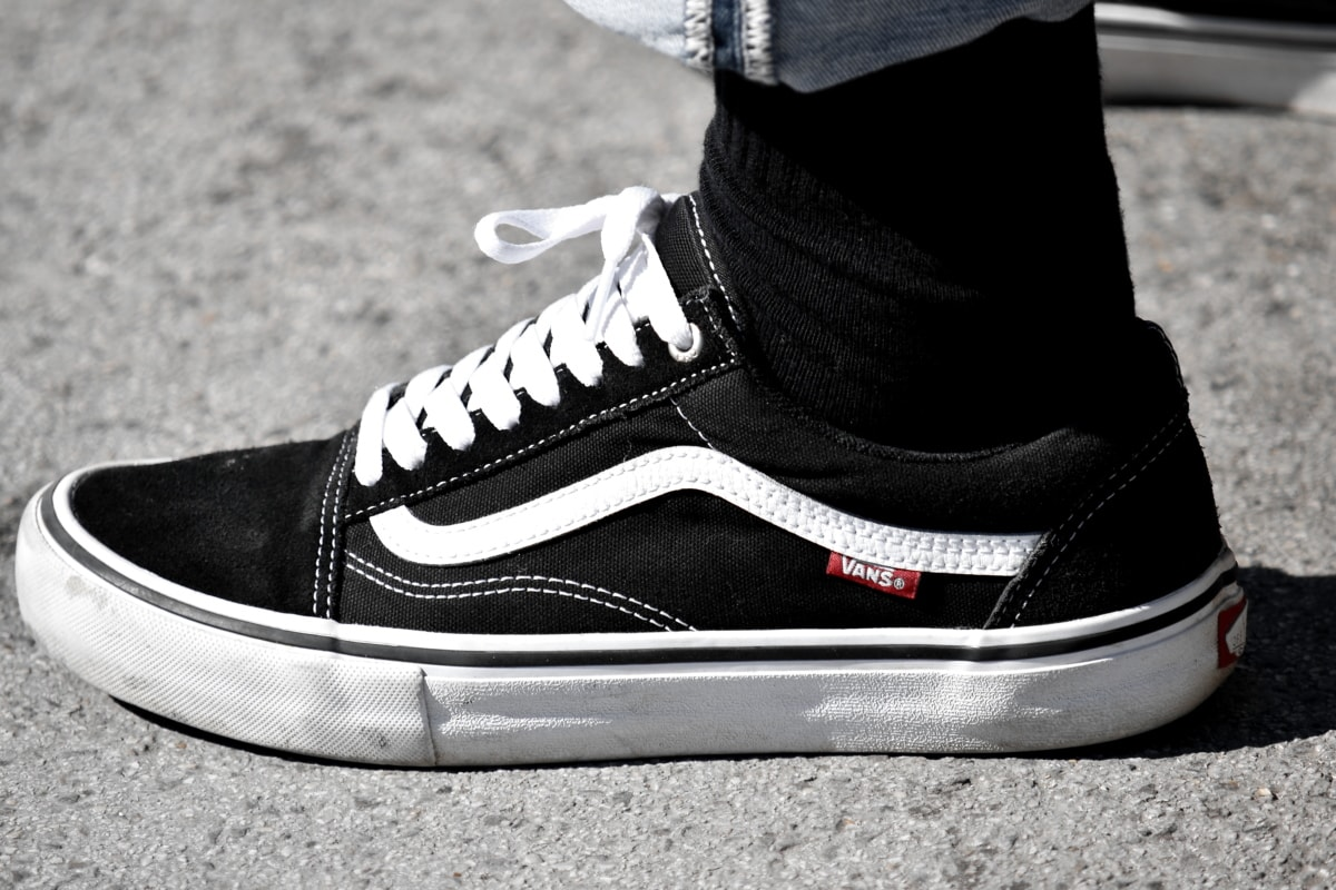 sneakers, foot, footwear, clothing, street, fashion, pair, leather, shoes, monochrome