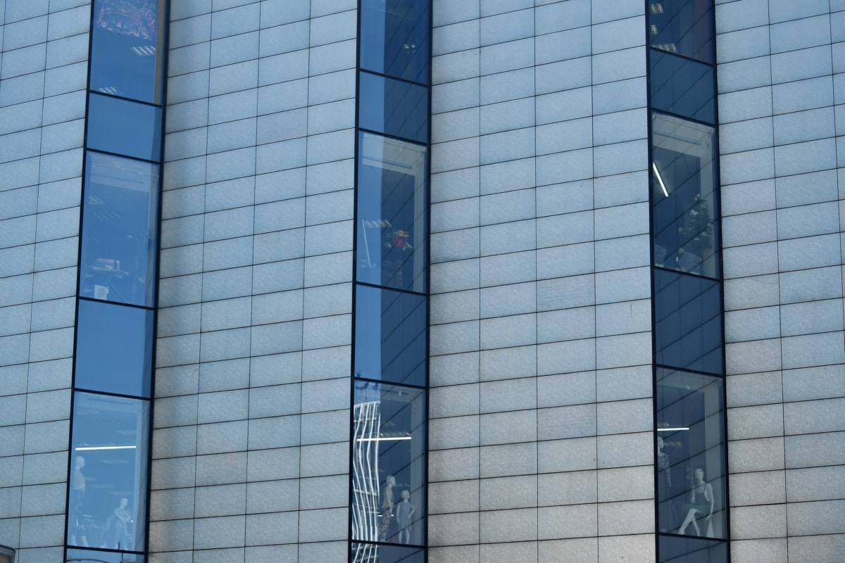 clădire, exterior, fatada, sticlă, moderne, urban, fereastră, zgârie-nori, fereastra, oraș