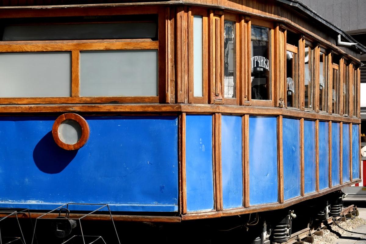 gamle, turistattraksjon, tog, årgang, transport, tre, kjøretøy, arkitektur, vinduet, lokomotiv