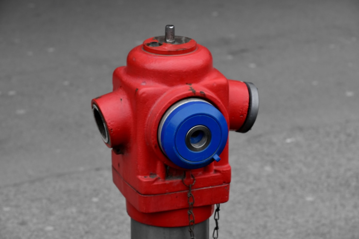cast iron, close-up, hydrant, object, red, street, safety, security, machinery, city