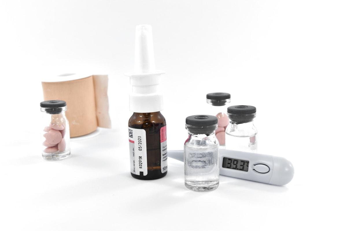 cure, soins médicaux, médicament, pharmacologie, pilules, vaccination, bouteille, traitement, conteneur, médecine