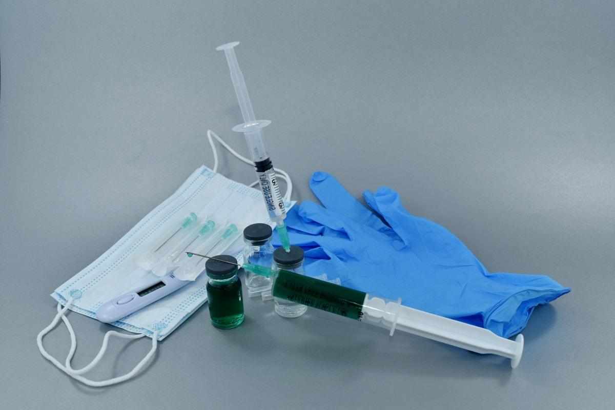 echipamente, Manusi, injecţie, medicale, Chirurgie, seringă, vaccin, Stiinta, Instrumentul, Medicina