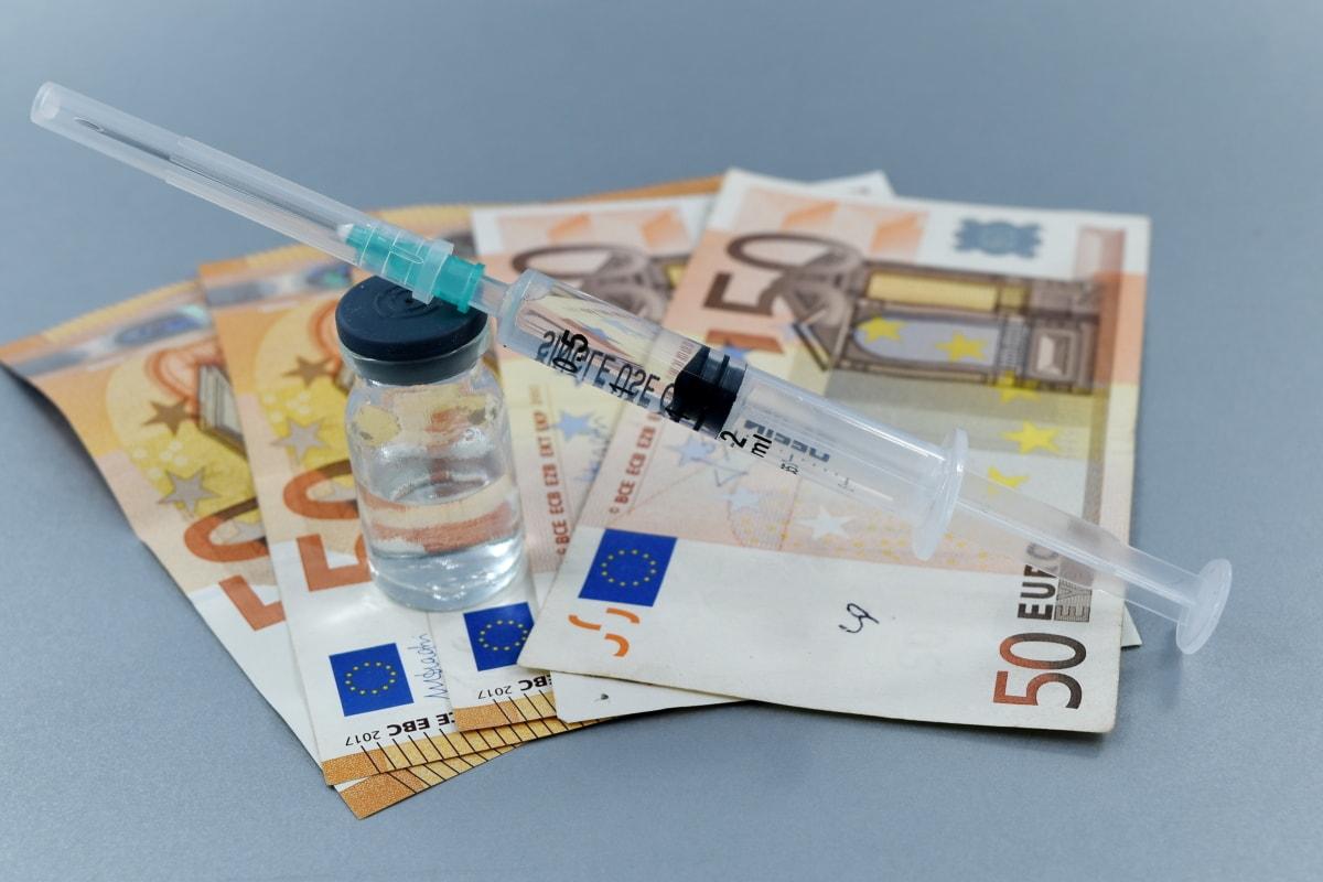 Pénzügy, befektetési, orvosi ellátás, pénz, farmakológia, termelési, sikeres, vizsgálat, védőoltás, pénznem