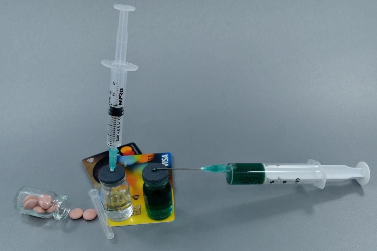 kemikaalit, kustannukset, huumeiden, talouden, rahoitus, inflaatio, infuusio, farmakologia, pillereitä, ruisku